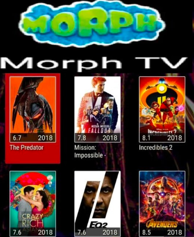 Morph TV on PC