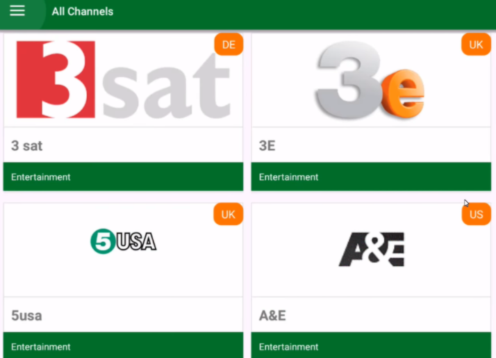 TVTap Pro App Installed on PC - Live TV Channels
