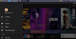 Cinema HD App Features on PC
