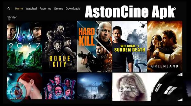 Aston Cine App Movies & TV Shows on PC