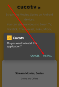 Install CucoTV APK on PC